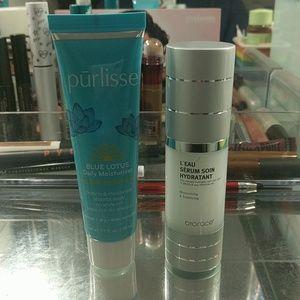 Purlisse Moisturizer and Biorace Hydration serum